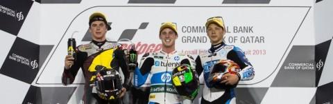 Espargaro, Redding y Nakagami podio Qatar